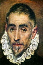 Self-portrait of El Greco